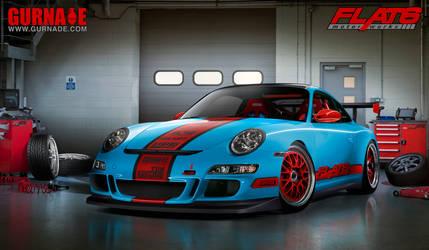 Flat 6 Motorworks Porsche GT3 by Gurnade