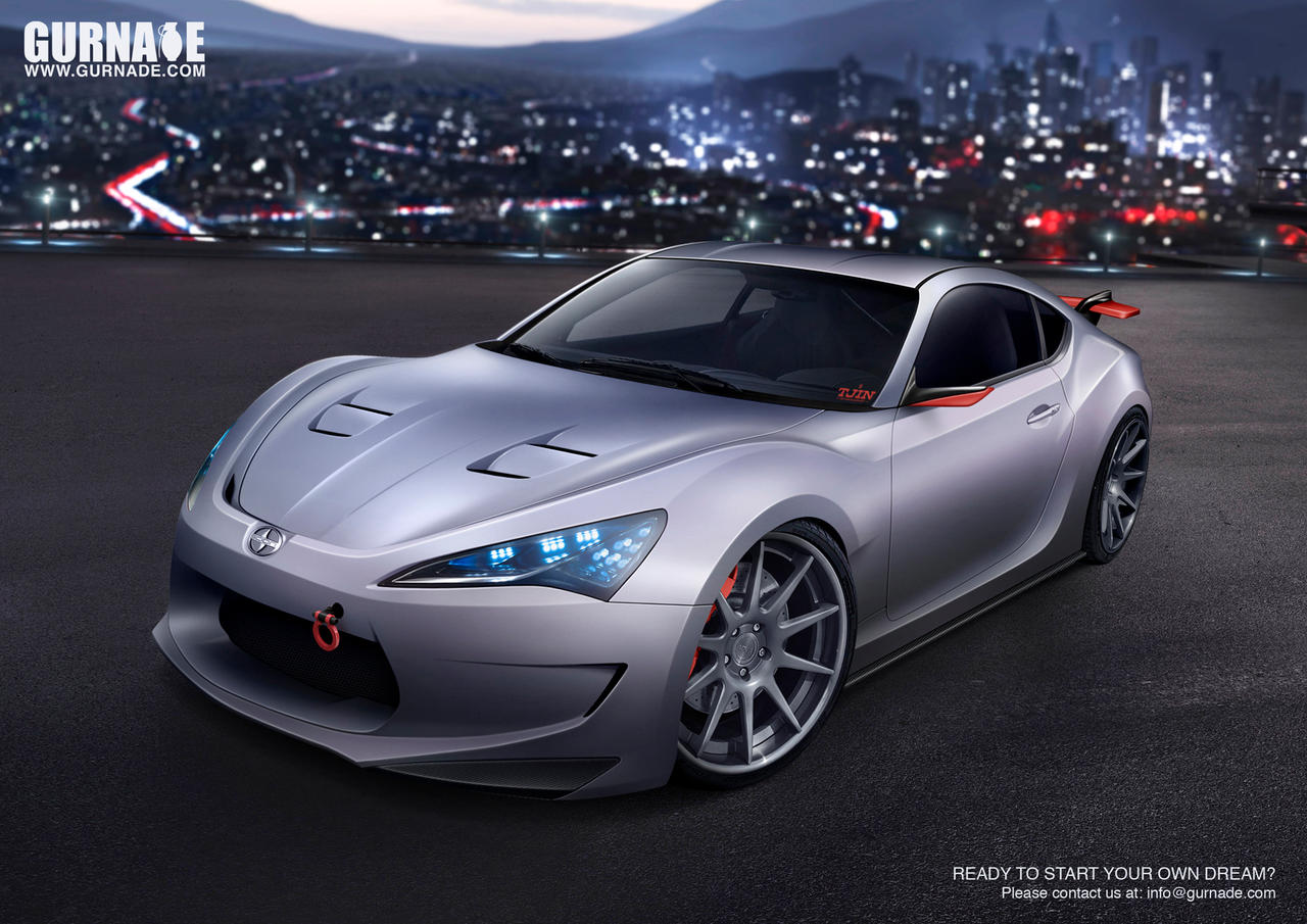 Scion FRS-GT by Gurnade
