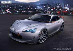 Scion FRS-GT by Gurnade