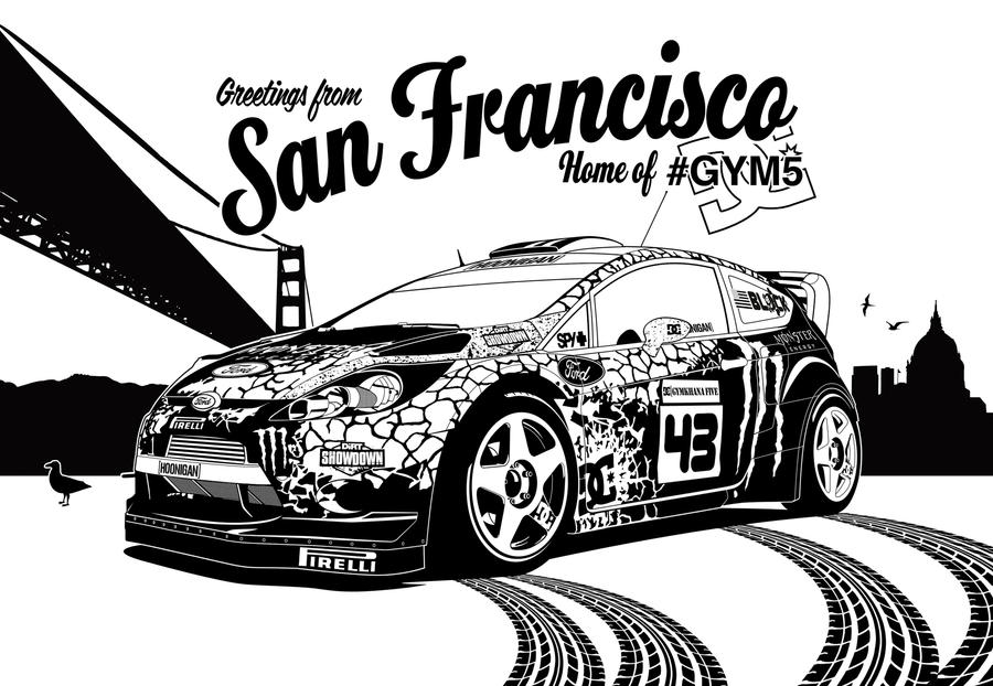 Gymkhana 5 Graphic by Gurnade on DeviantArt Gymkhana 5 Wallpaper