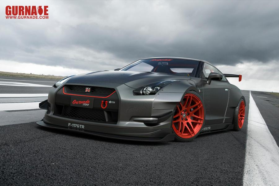 Nissan F117-GTR by Gurnade