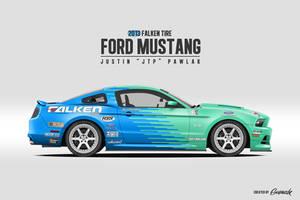 JTP Falken Tire Ford Mustang