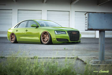 Audi A8 by Gurnade