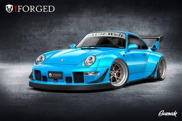 iForged/RWB Porsche 993 by Gurnade