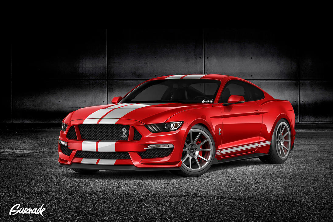 Ford Mustang GT350 by Gurnade