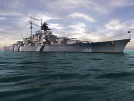 Bismarck V3-Ultrahigh detail2 by voutlooz