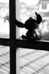 .:Stitch by the Window-I:. by Blacks-and-Whites