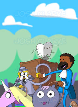 Django + Adventure Time = Django Time!