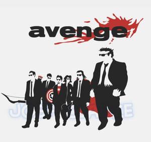 Avenge: Reservoir Dogs Tee-Kickstarter Exclusive!