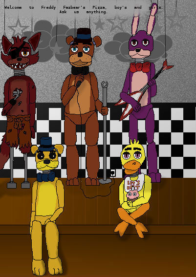 Ask blog for five nights at freddy's by teddy503