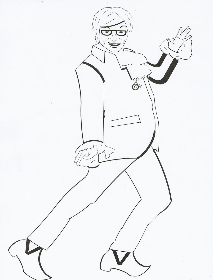 austin powers coloring pages - photo#3