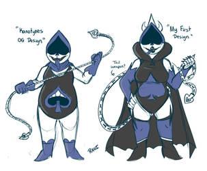 Spade Queen designs by ravizeroli
