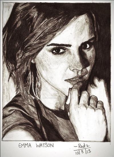 Emma Watson by FirewhiskeyRadz