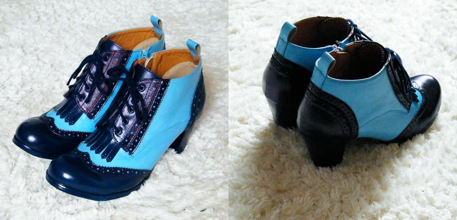 Beauxbaton Student Boots by Kanirakoba