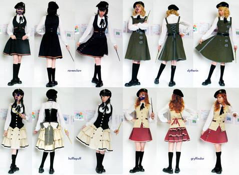 Hogwarts Uniforms : School Issued : Unfinished