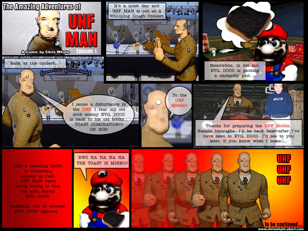 UNF MAN episode 1 by mr-whyte