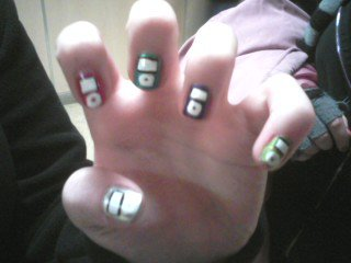 Ipod Inspired Nails by TheNailFile