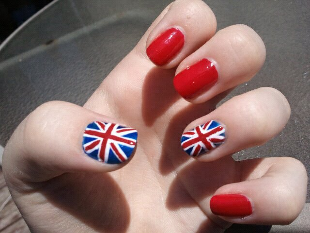 British flag union jack nails by thenailfile on deviantart british flag union jack nails by thenailfile prinsesfo Image collections