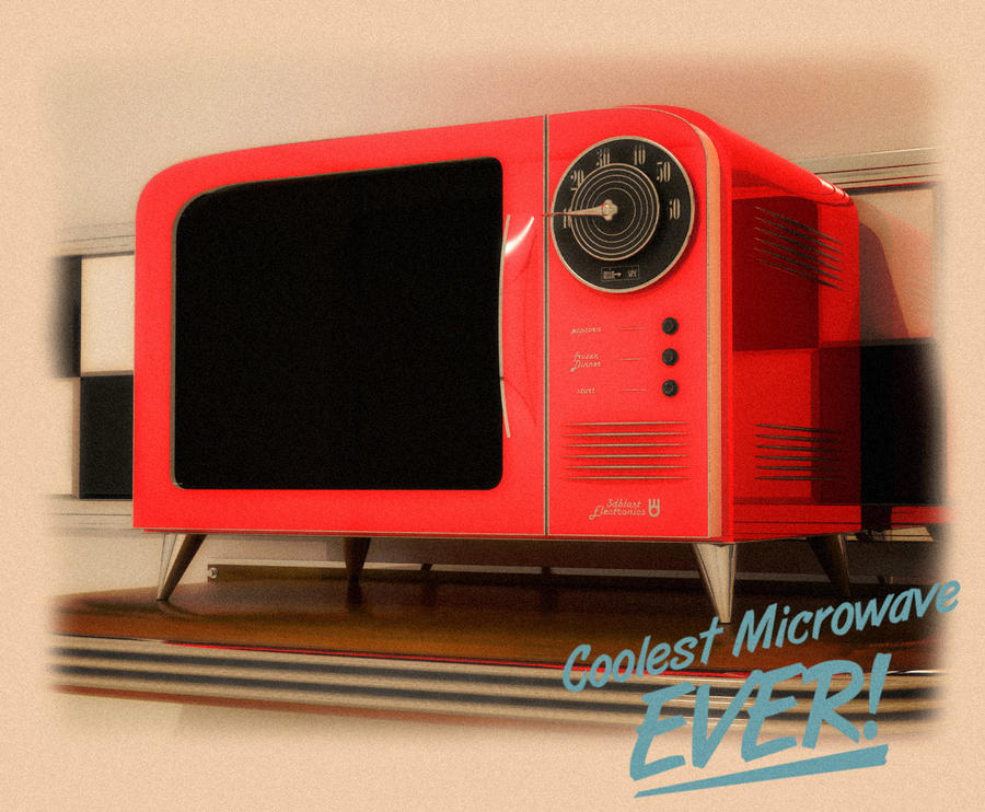 Retro Microwave Www Imgkid Com The Image Kid Has It