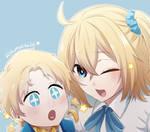 Voyager and Blonde Gudako