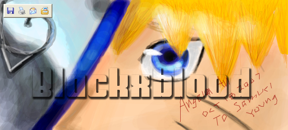 Naruto's eyes by BlackxBlood