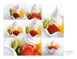 yogurt ice cream by peachjuice