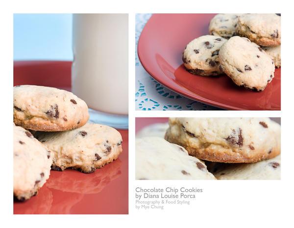 milk and cookies by peachjuice
