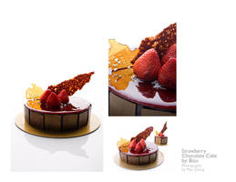 strawberries and chocolates by peachjuice