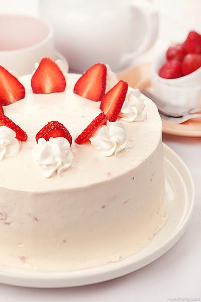 Japanese Strawberry Cake Recipe