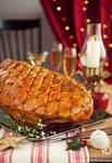Christmas Ham by peachjuice