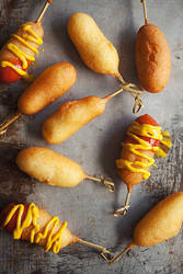 Mini Cheese Corndogs 3