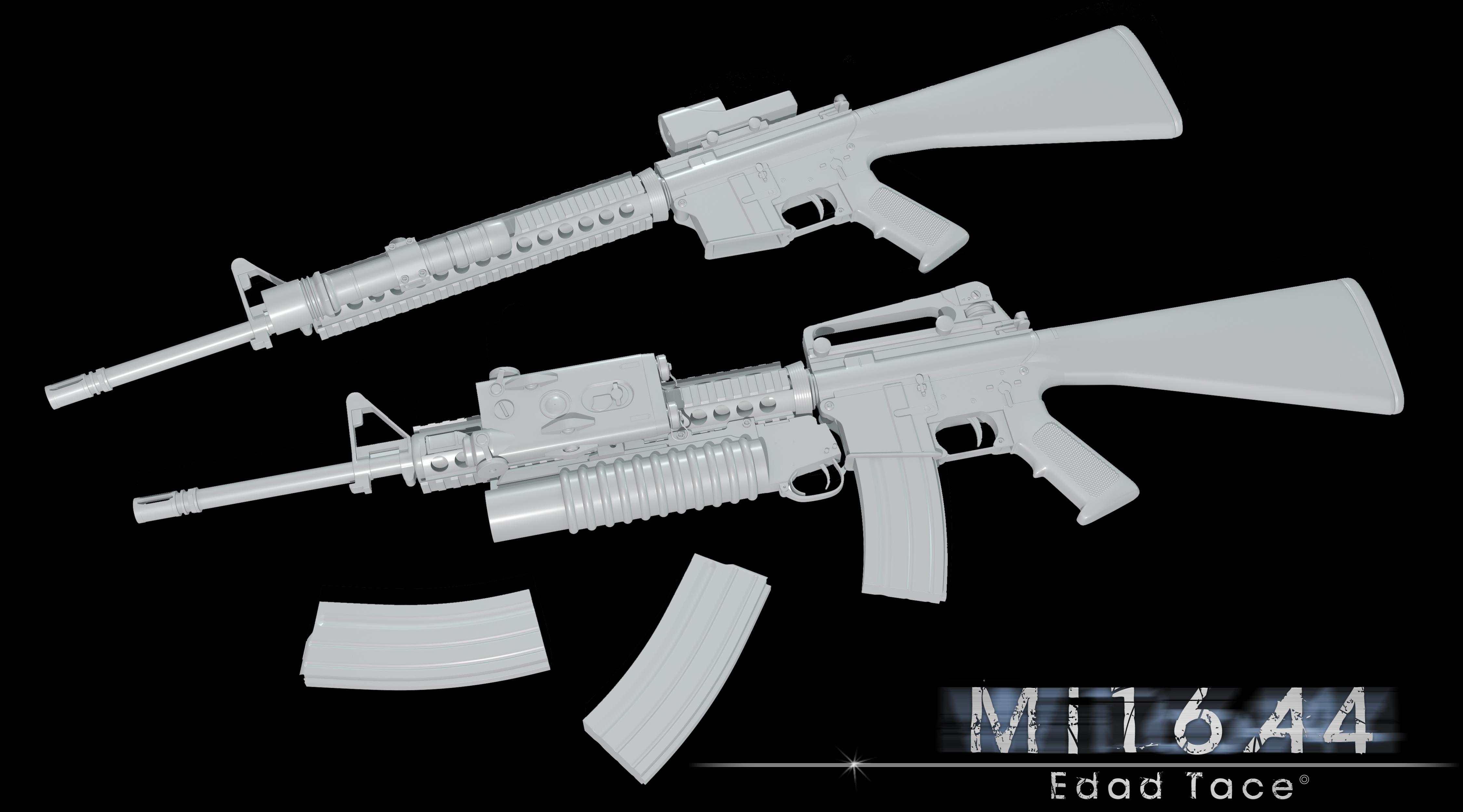 M16A4 by mSkull001 on DeviantArt