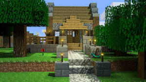 A peacefull day in Minecraft by mSkull001