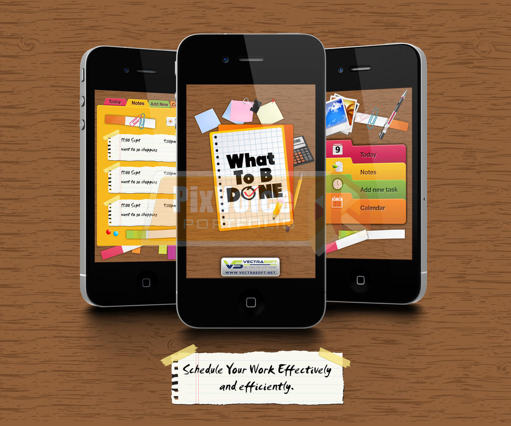iPhone-What To B Done APP by send2owais