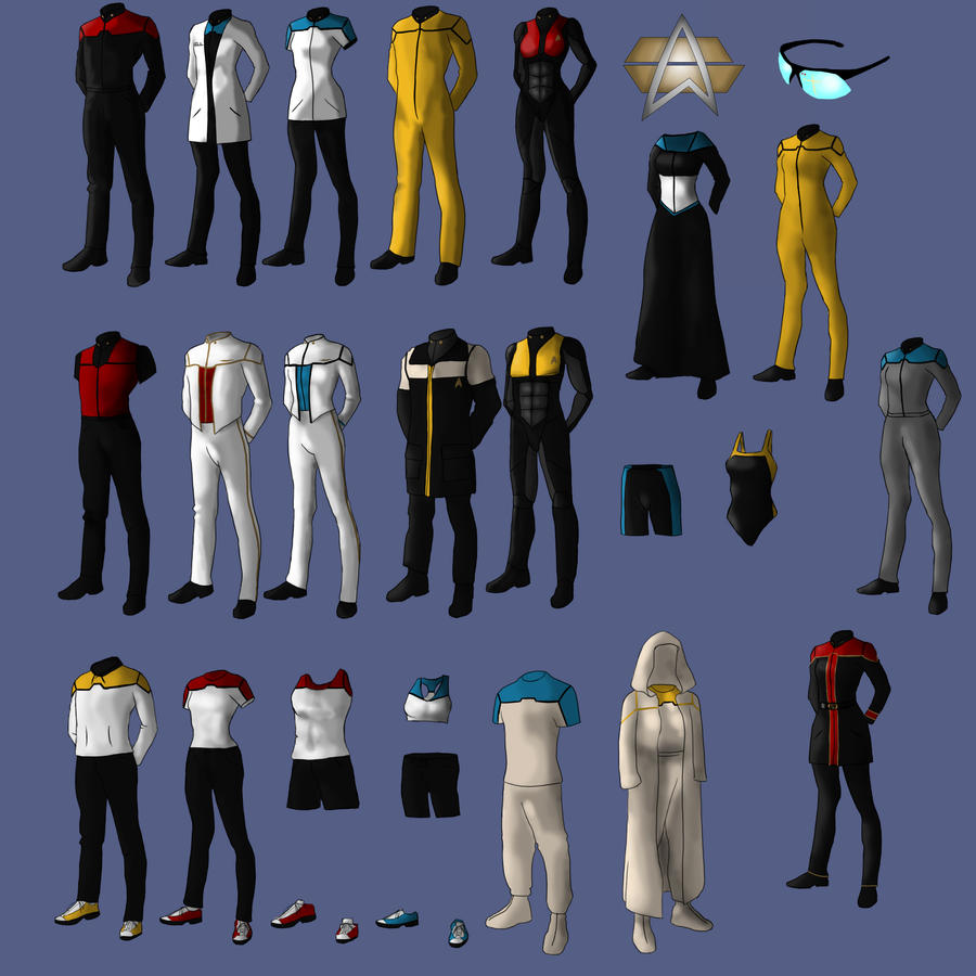 New Uniforms for Starfleet by Tobirone on DeviantArt