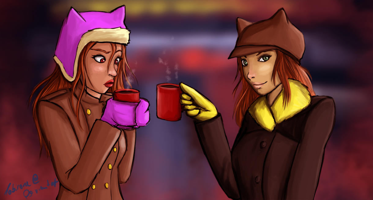 Hot Chocolate by Tobirone