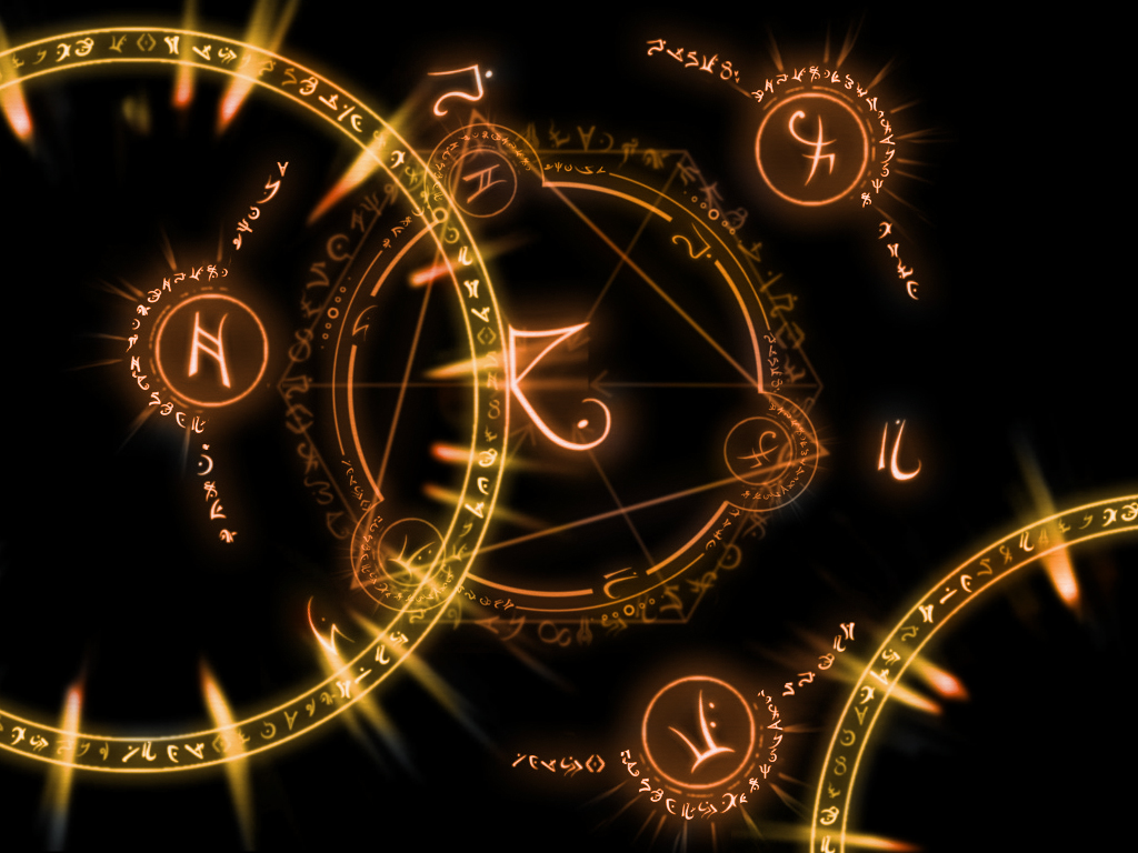 Arcane Circles Wallpaper by SoftPurple