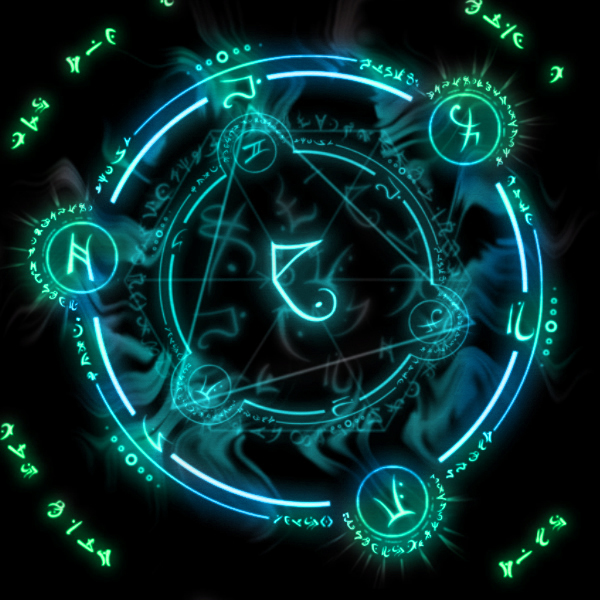 Arcane Circles by SoftPurple on DeviantArt