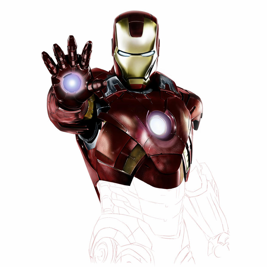 Iron Man WIP part 2 by bCROZZy