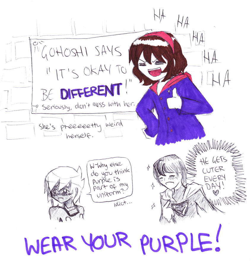 Show Your Purple by GohoshiSuruNyan