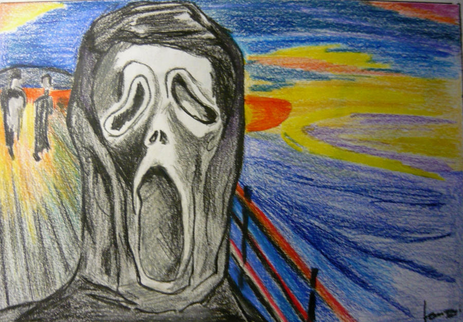 The Scream - After Edvard Munch by theskins on DeviantArt