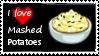 I Love Mashed Potatos Stamp by Rikku-Horaiji