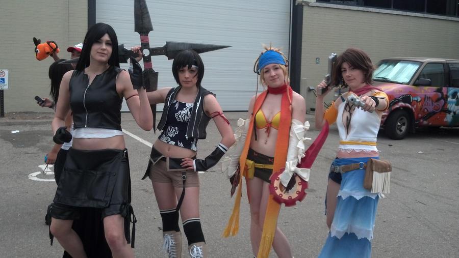 rikku cosplay fantasy Final