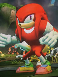 Knuckles the Echidna by OhYeahCartoonsFan