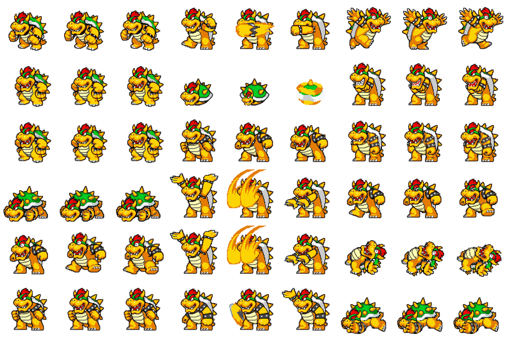 RPG Maker MV: Bowser Sideview Battler by weakfoggy on DeviantArt