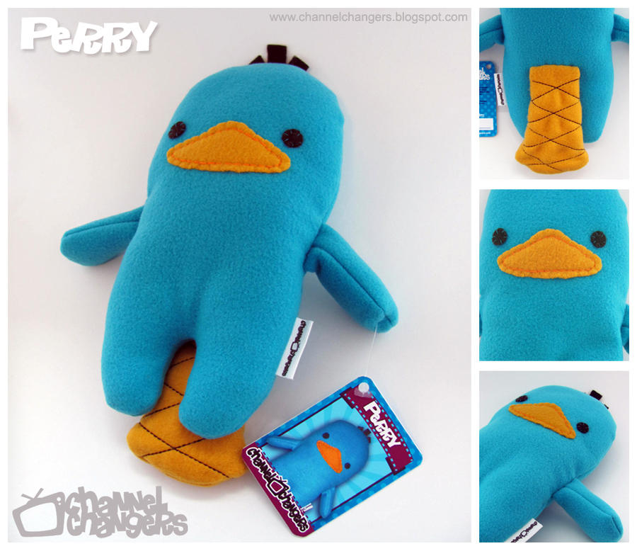 Perry the Plush Platypus Pics by ChannelChangers on DeviantArt
