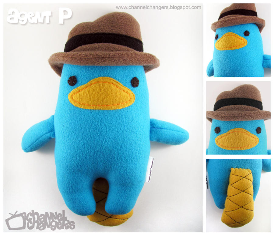 Agent P Plush by ChannelChangers on DeviantArt