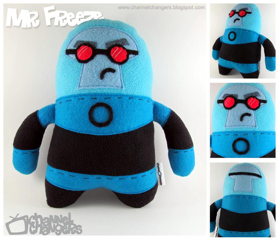 Mr. Freeze Plush by ChannelChangers