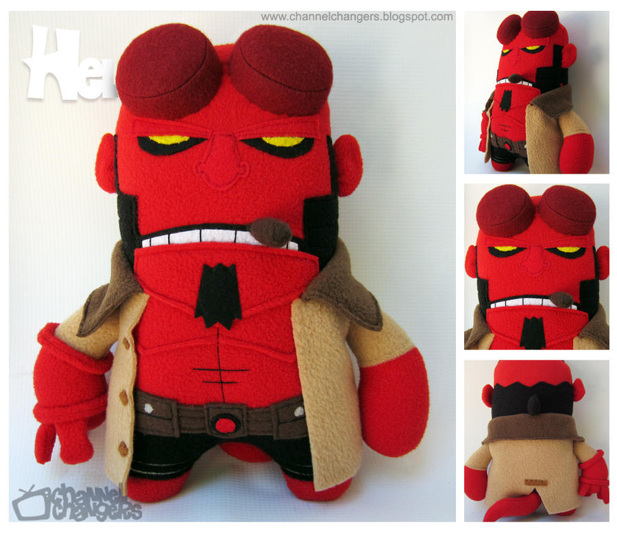 Hellboy by ChannelChangers