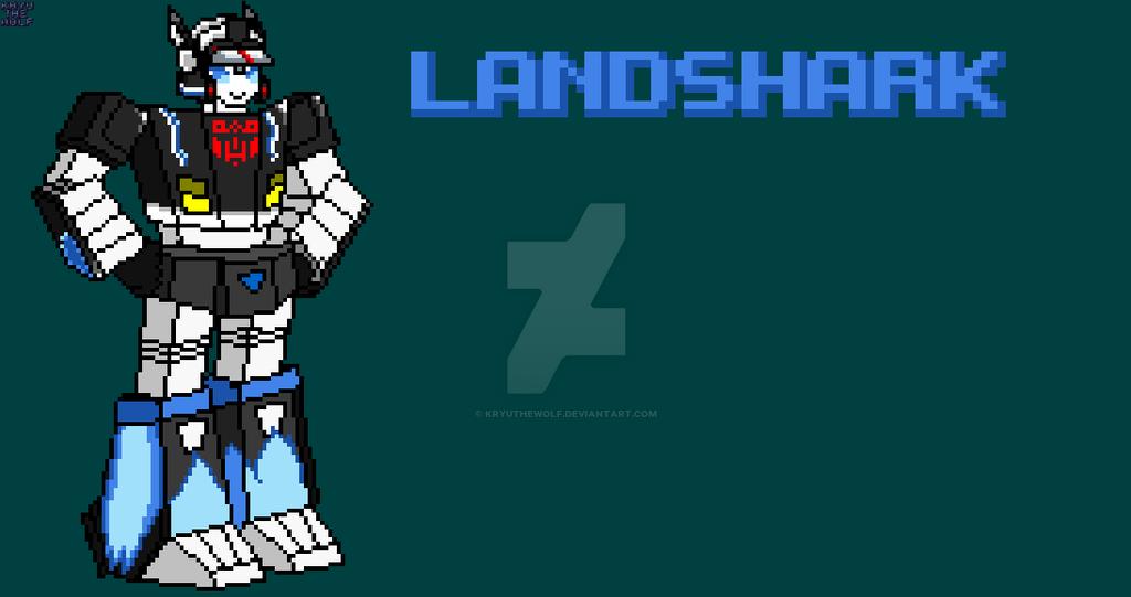 Landshark a gift for a friend by KryuTheWolf